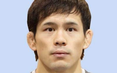 レスリングの東京五輪代表に決まった高橋侑希=共同