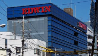 東京・日暮里駅から徒歩10分のエドウイン本社。7月に伊藤忠商事の傘下で再出発した