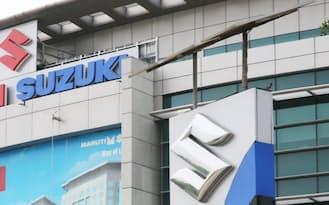 スズキはインドの乗用車市場で4割強のトップシェア(ニューデリーのマルチ・スズキ本社)