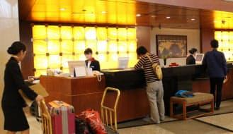 ホテルでは従業員の端末に顧客の嗜好に合わせたメニューも後れる