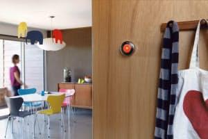 「ネスト」はAIが利用者の生活パターンを把握して室内の温度を適温に