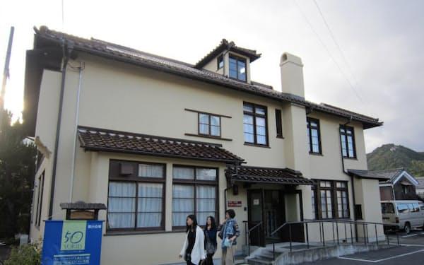 ヴォーリズ建築第1号となった旧八幡YMCA会館(滋賀県近江八幡市)