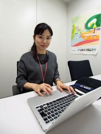 三井不動産レジデンシャル市場開発部の吉田ますみさん。「企業名を出したら引かれてしまうので、とにかく宣伝色を出すのは我慢した」