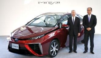 トヨタ自動車が発表した燃料電池車「MIRAI(ミライ)」
