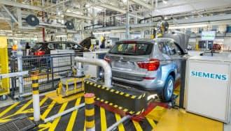 BMWが全工場にスマートメーターを導入する(先行導入した米サウスカロライナ州の工場)