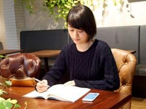 東大を目指す長谷川よし乃さんはスタディプラスが開発したアプリ「Studyplus」が受験勉強に欠かせないという