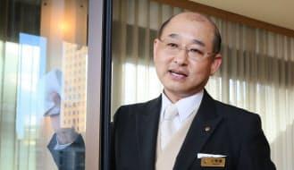 ホテルオークラ東京で宿泊統括部の部長を務める小野瀬玲さん