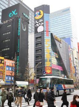 かつて日本最大級のパソコンショップがあったビルは現在、AKB48劇場などが入る(東京都千代田区)