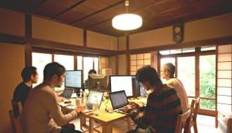 北鎌倉の古民家を本社にし、顧客企業とじっくり対話しながらECサイトなどを構築する村式