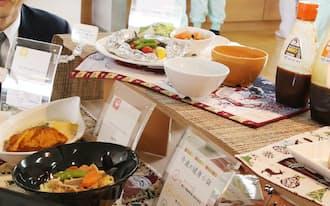 オタフクソースの社員食堂のメニュー(広島市)