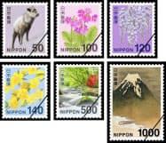 新デザインの50~1000円切手=共同