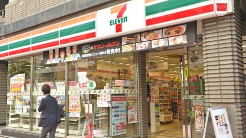 業界首位のセブン―イレブン・ジャパン(東京都内の店舗)