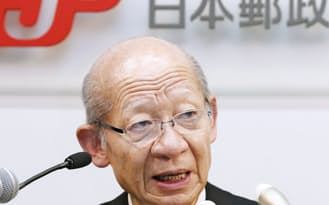 持ち株会社の単独上場から、巨額の「親子同時上場」に転換した日本郵政。背景に何があったのか(西室社長)