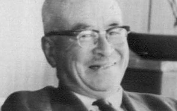 晩年の木戸幸一・内大臣。若き昭和天皇の側近としてクーデター鎮圧に重要な役割を果たした