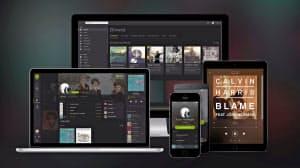 欧米の若者に圧倒的な人気を誇る定額聴き放題サービス「スポティファイ」