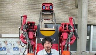 宗像の本社にある大型ロボット