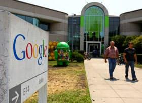 米議会の一部議員は米グーグルへの調査を始めた(カリフォルニア州マウンテンビューのグーグル本社)