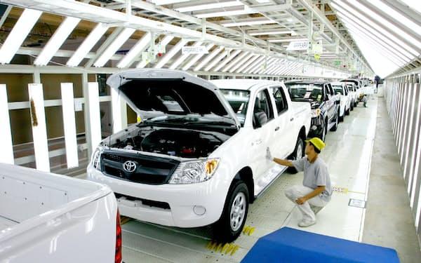 トヨタ自動車のタイ工場