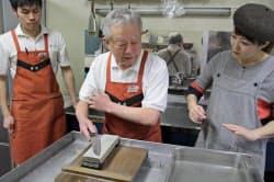 包丁研ぎの極意をプロが伝える有次の教室は「街ゼミ」の成功例