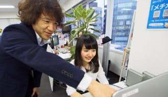 社会人経験がない里佳さんにとって、先輩起業家で父親でもある隆太さんの存在は心強い