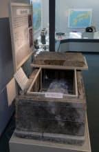 八尾市立歴史民俗資料館では高安山麓の歴史などを紹介している(大阪府八尾市)