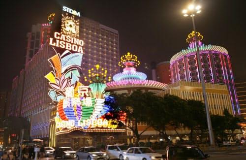 カジノで生まれ変わったマカオの風景