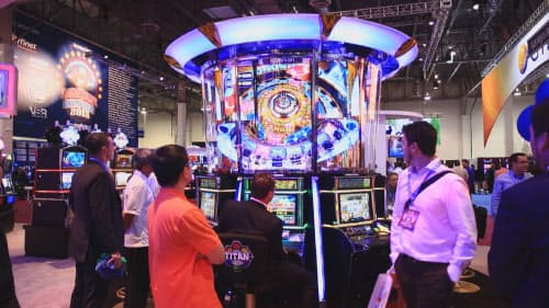 コナミはスロットマシンや大型のカジノ機器を米ラスベガス工場などで製造する