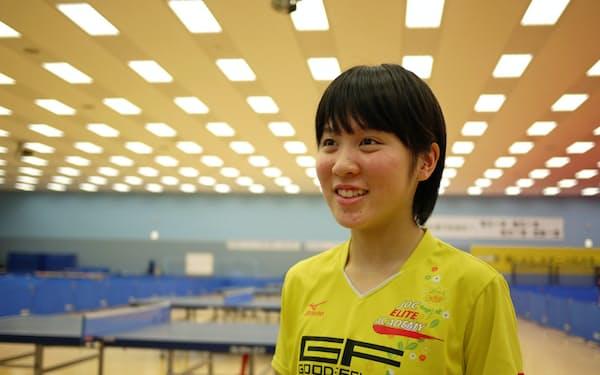 「こんなに早く世界選手権に出られるとは思っていなかった」と平野美