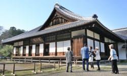 日本遺産に認定された旧弘道館(23日、水戸市)