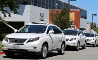 グーグルが開発中の自動運転車