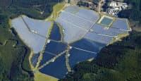 大林組は太陽光、風力、バイオマス発電を強化する(熊本県芦北町のメガソーラー)