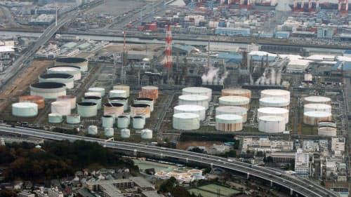 JX日鉱日石エネルギーの根岸製油所(横浜市)