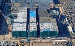 GLPは日産自動車の工場跡地に延べ床面積が13万平方メートルの大規模施設を稼働させる