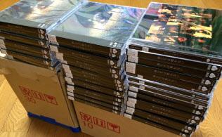 投票のためにCDを大量購入する人も多い