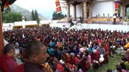 伝統文化を維持する国、ブータン