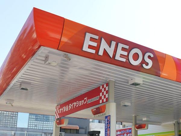 JXTGは「ENEOS」ブランドの給油所を展開する