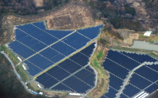ソーラー発電施設(千葉県内)