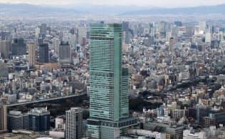 現在の大阪市街