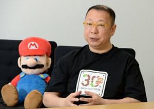 任天堂スーパーマリオブラザーズの当初からの開発メンバー、手塚卓志さん