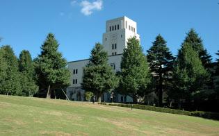 東工大は2016年4月をめざして、教育研究体制の改革を進めている(写真は大岡山キャンパスと本館、東工大提供)