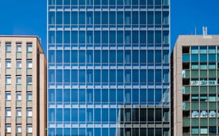 大型REITを組成し、スポンサーとしての成長につなげる。売却予定オフィスビルのPMO田町(東京・港)