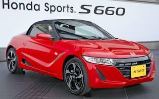 ホンダが発売した軽スポーツ車「S660」