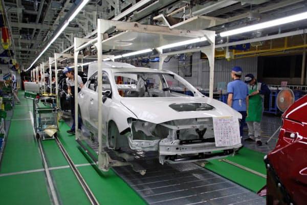 SUBARUの群馬製作所本工場