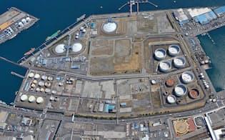 東燃ゼネラル石油は静岡市の油槽所内で天然ガス発電所の建設を計画している