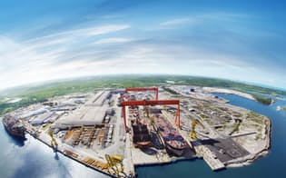 IHIなどが出資するアトランチコスル造船所(ブラジル・ペルナンブコ州)