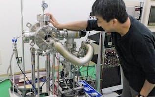 ジルコニウムに重水素ガスを当てて核変換と熱発生を調べる(東北大学)