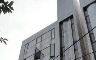 マッハ機器本社が入居する東京都江東区のビル