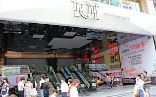 開業から1年待たずに閉鎖したショッピングセンター(四川省成都)
