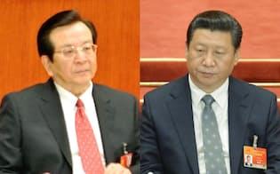 曽慶紅(左)は習近平(右)の「恩人」のだったが……