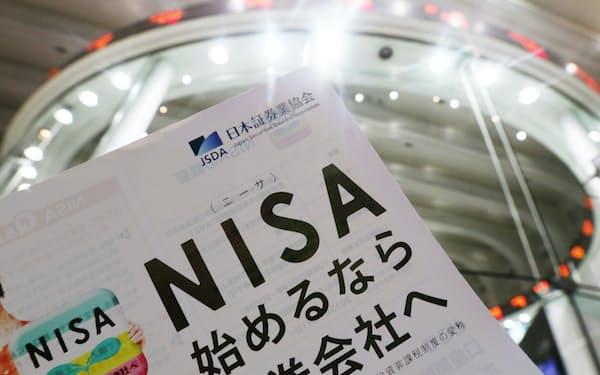 NISAでは値上がり期待の大きい成長株も選択肢に入るかもしれない